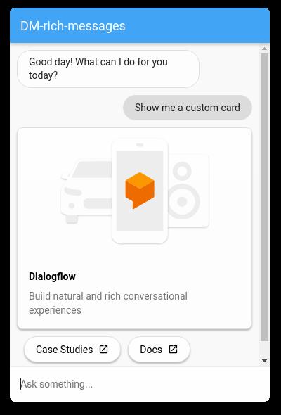 Dialogflow Messenger Dialogflow Es Google Cloud