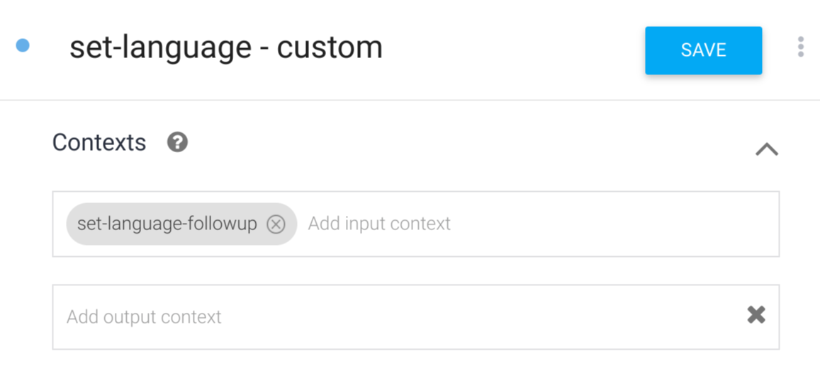 Output context screenshot