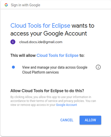 1. View and manage your data across Google Cloud services