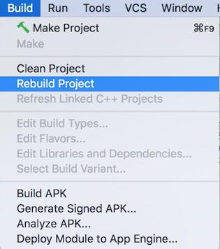 重建 Android Studio