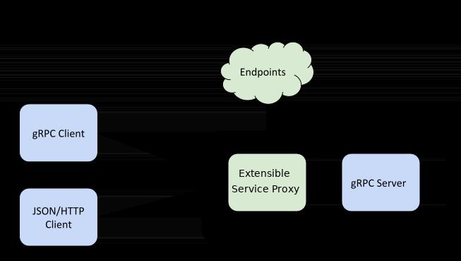 Service Endpoints gRPC