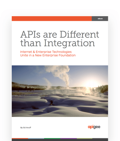 《APIs Are Different than Integration》