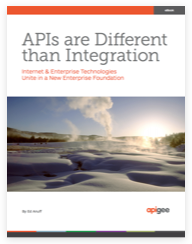 APIs are Different than Integration