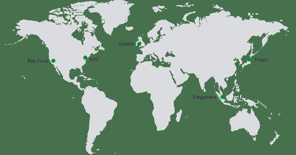 ASL 拠点マップ