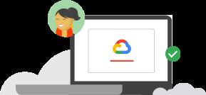Grafik: Google Cloud Skill-Logo erwerben