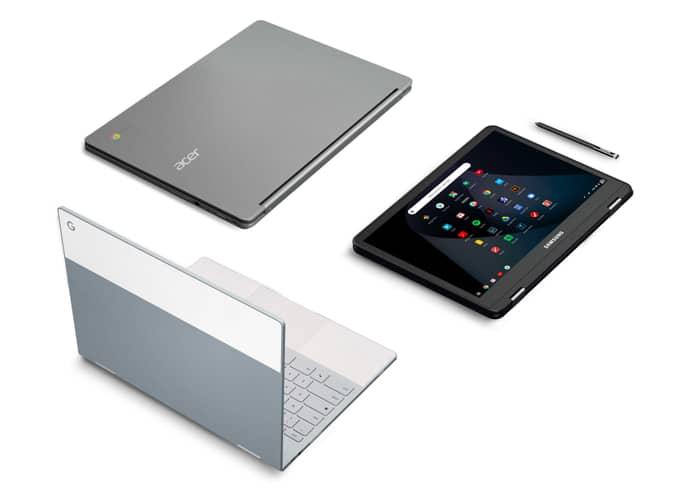 Présentation des Chromebooks