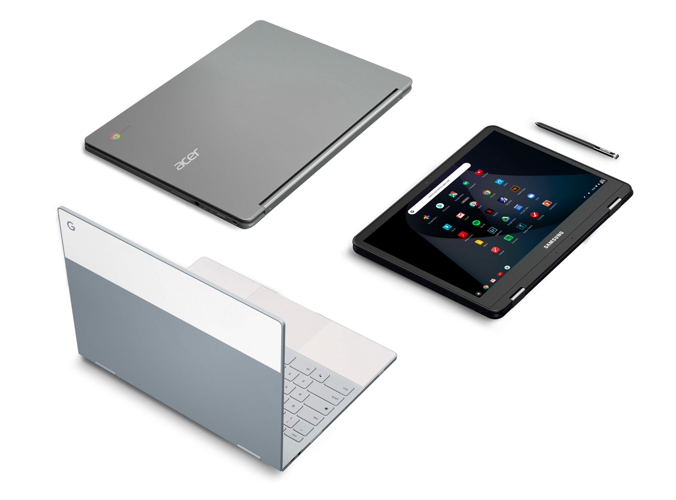 Presentación de Chromebooks
