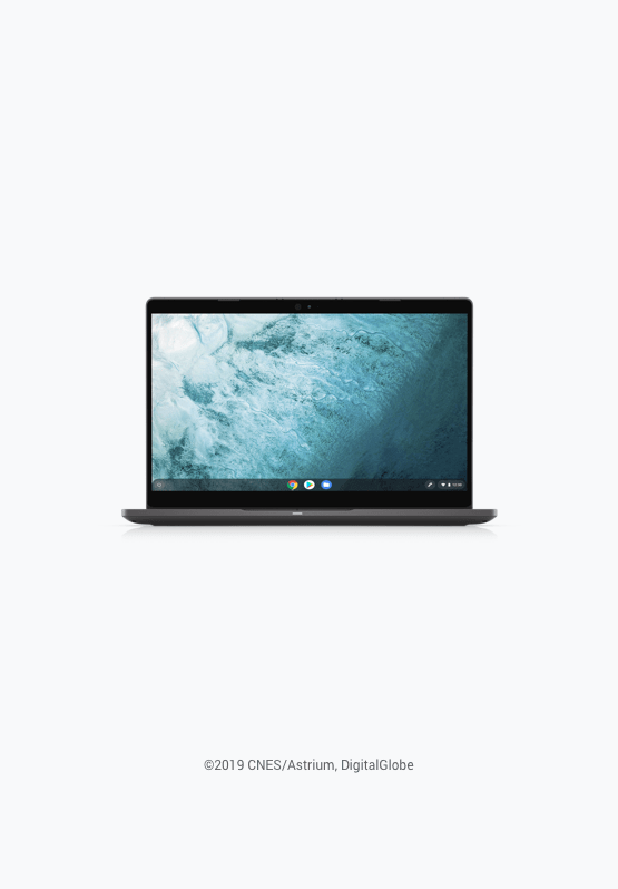 搭載 Chrome Enterprise 的 Dell Latitude 5300 2 合 1 電腦