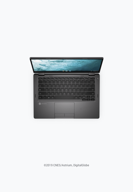 Chromebook Enterprise と連携した Dell Latitude 5300 2-in-1