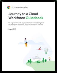 Journey to a Cloud Workforce Guidebook のカバーページ
