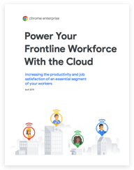 Power your frontline workforce with the cloud whitepaper