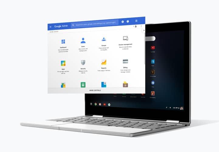 Imagem de capa da visão geral do Chrome