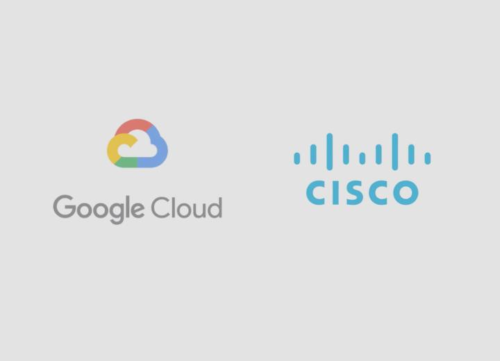 Imagem Colaboração Cisco Google Cloud