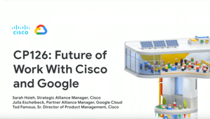 Cisco & Google Cloud: Modernize Your Enterprise | Google Cloud