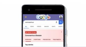 Connecting people with COVID-19 information and resources