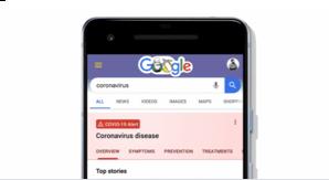 Fournir aux utilisateurs des informations et des ressources sur le COVID-19