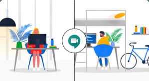 Google Meet 为高达 200 万的每日新增用户提供支持
