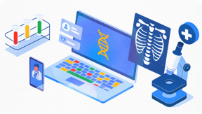 Healthcare API and other solutions for supporting healthcare and life sciences