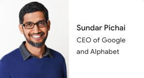 Google CEO の Sundar Pichai による「コロナウイルス: Google による支援」の発表