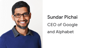 CEO'muz Sundar Pichai'den