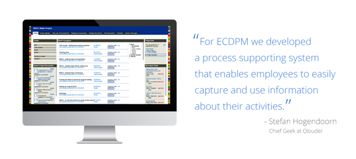 ECDPM Screen Shot