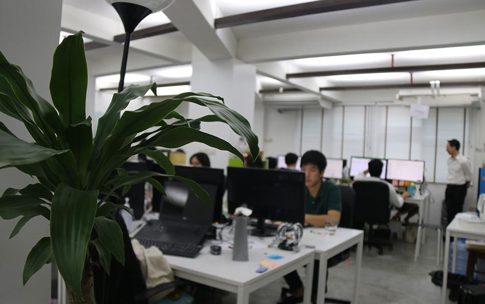 Sertis employees at work
