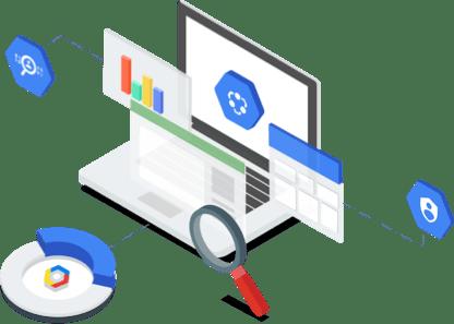Descubra e gerencie seus dados