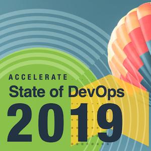 2019 年の State of DevOps Report の表紙