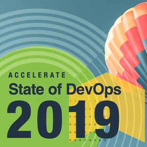2019 年の State of DevOps Report の表紙