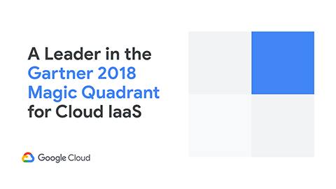 gartner cloud infrastructure as a service google cloud