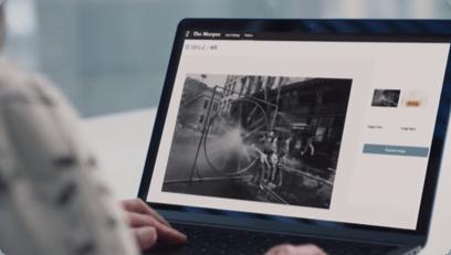 Thumbnail video machine learning untuk melakukan transformasi