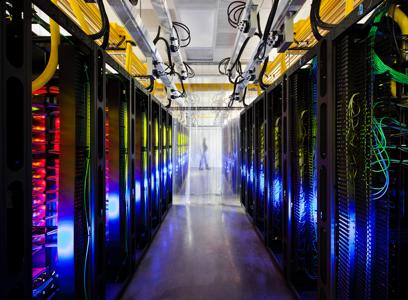 Rede global rápida e confiável
