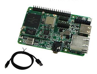 Foto del kit di sviluppo Argon i.MX6UL