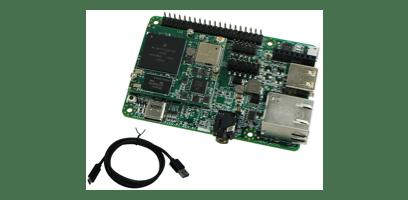 Imagen del kit de desarrollo de Argoni.MX6UL