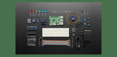 Foto do kit de IoT baseado em ARM para o Cloud IoT Core
