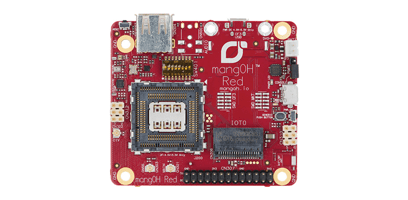 Photo of Sierra Wireless mangOH Red