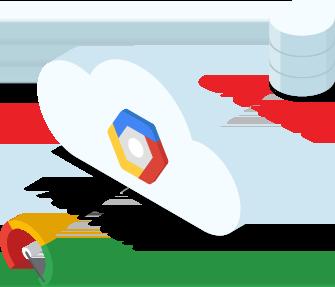 画像: フルマネージド サービスによる Oracle ワークロードの処理