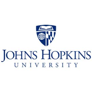Logotipo de la JHU