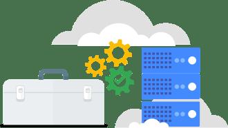 サービス構成の画像