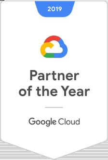 Partenaire GoogleCloud de l'année