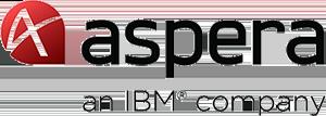 Logotipo de Aspera