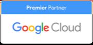 Selo de parceiro Google Cloud Premier
