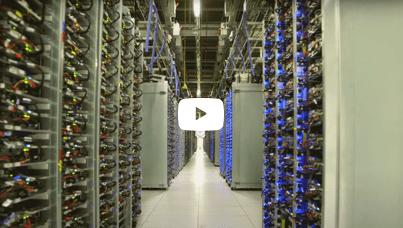 Vidéo du centre de données