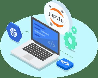 Instancias de cuadernos de JupyterLab gestionadas