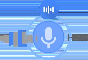 Convierte audio en texto mediante modelos de redes neuronales