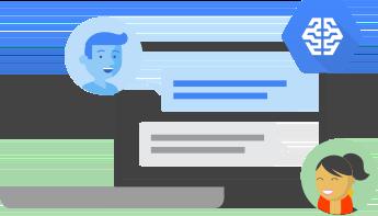 機械学習を使用した対話型インターフェース
