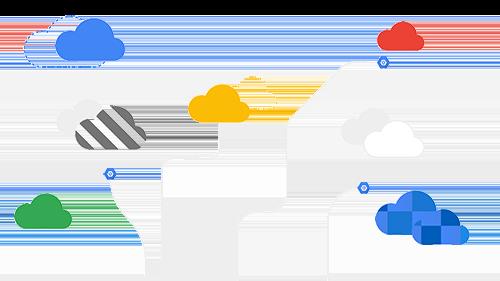 创建混合式和多云端环境