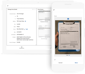 Interface de aplicativos do AppSheet