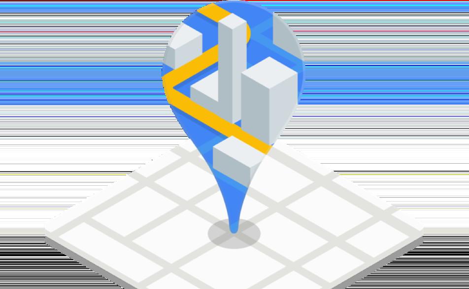 Imagem do Google Maps Platform