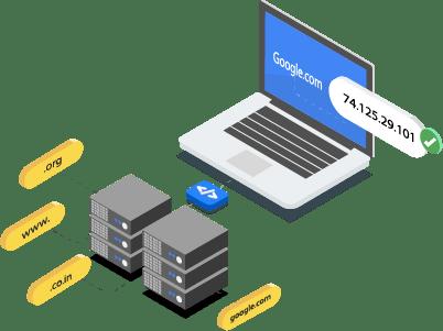 グローバル DNS ネットワーク